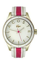 Lacoste Sydney Grosgrain - White/Pink Women's watch #2000770