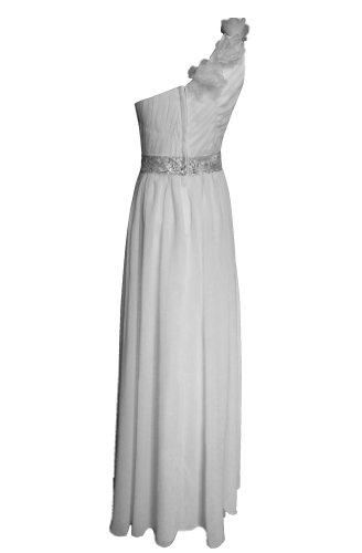 Alivila Fashion Y Damen Weiß Kleid wFv0Hqw
