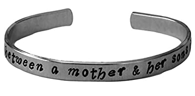 "The Love Between a Mother and Her Sons Is Forever - 1/4"" Bracelet - Mother Son Bracelet"