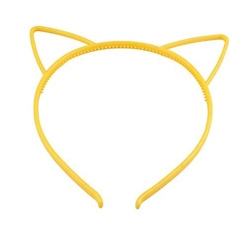 Cute Wowen Girl Kids Plastics Headband Hair Band Cat Ear Dress Party (Style - E)