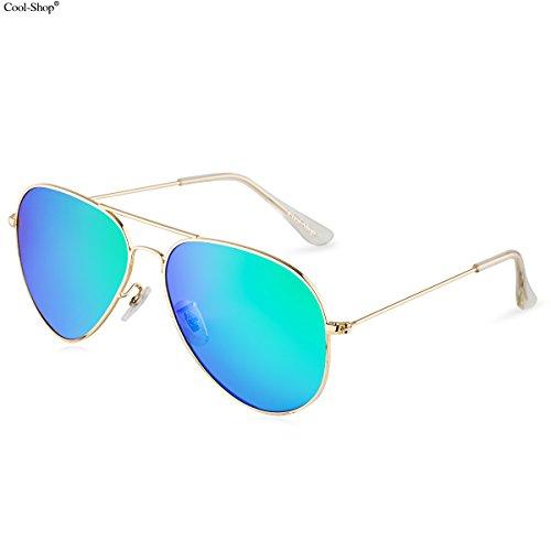 43d4f872670 Best Value · Cool ShopPremium Classic Mirrored Aviator Sunglasses product  image
