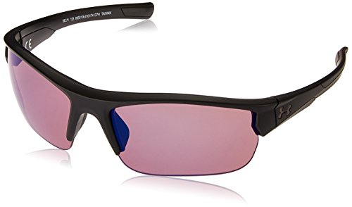Under Armour Wrap Sunglasses, UA Propel Satin Black/Golf, ()