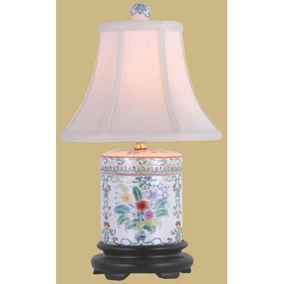- Porcelain Cover Jar Table Lamp