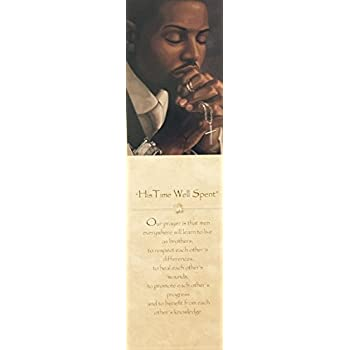 We Say A Prayer For You Today II Henry Battle African American Art Print 12x36