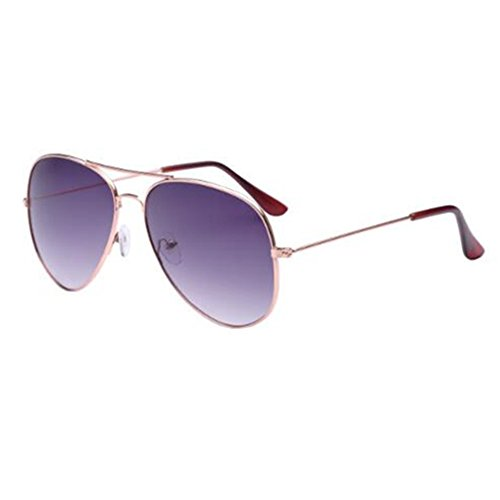 T-Y unisex new classic retor metal night vision sunglasses hiking - Spectacles Of Rimless Images