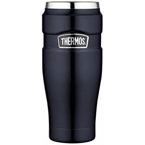 5be17f699fe Amazon.com  Thermos Stainless King 16-Ounce Travel Tumbler