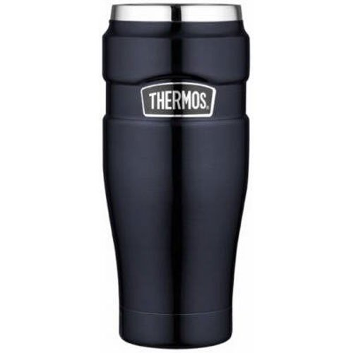 4 Tumbler 16 Oz Mugs - Thermos Stainless King 16-Ounce Travel Tumbler, Midnight Blue