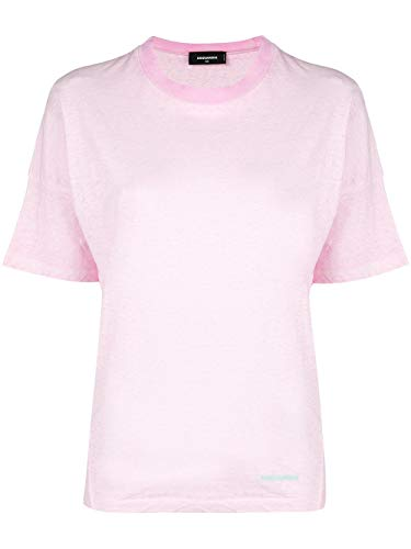 Dsquared2 shirt Mujer Algodon T S72gd0071s22507242 Rosa XaFqnBaP