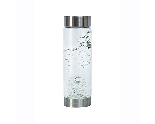 Diamond VitaJuwel Gemstone Water Bottle by Zinzeudo