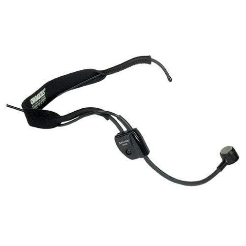 Shure WH20QTR Dynamic Headset Microphone - Includes Right-angle 1/4