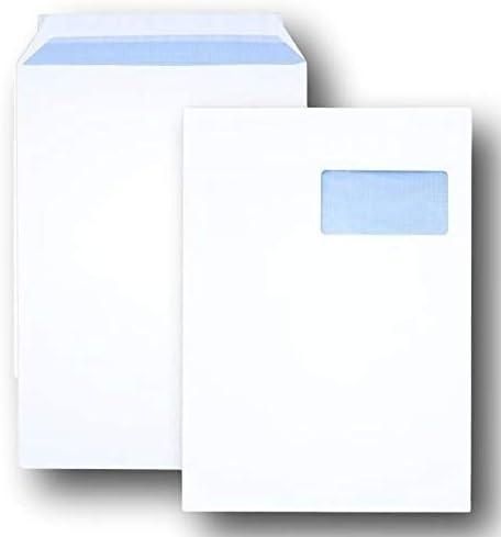 Enveloppe HK Enveloppes 500 St c4 papprückwand pochettes blanc 120 gr