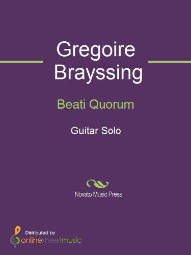 Beati Quorum (Quorum Arts)