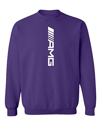 TURXIN New Graphic Car Racing Motorsport Speed Unisex Youth Sweatshirt Crewneck Sweater (Purple, Youth Large)