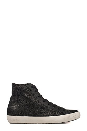 Top Hi Sneakers Philippe Donna Pelle Nero Clhdxm72 Model qOTaFE