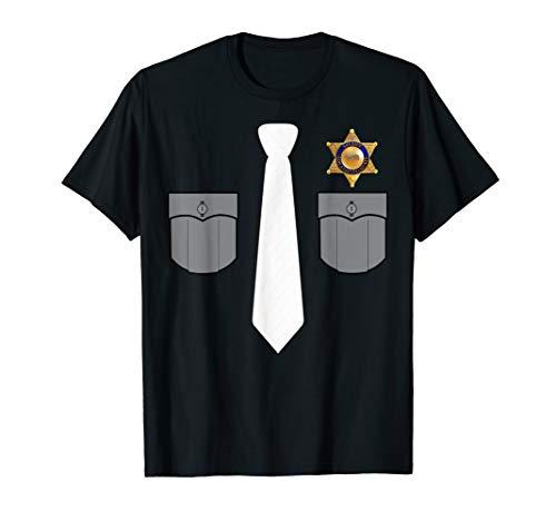 Prison Warden Prison Guard Costume Funny Gift T-shirt]()