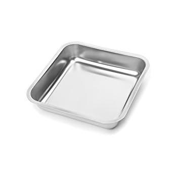 Amazon Com Fox Run 4861 Square Cake Pan Stainless Steel