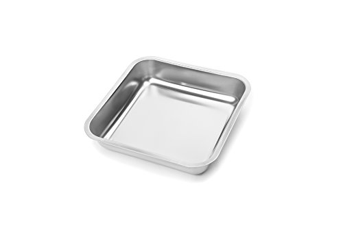 Fox Run 4861 Square Cake Pan, Stainless Steel by Fox Run