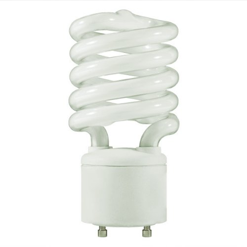 TCP  SpringLamp CFL, 100W Equivalent, Soft White (2700K), GU24 Base Spiral Light Bulb -