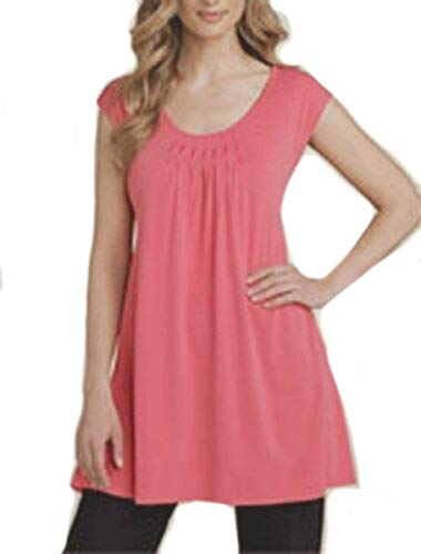 Eileen Fisher Silk Tunic - Eileen Fisher Stretch Silk Jersey Tunic S MSRP $168.00 Rose