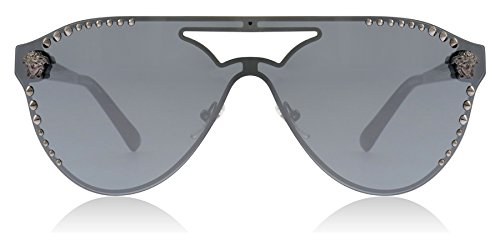 Versace VE2161 10011U Gunmetal VE2161 Pilot Sunglasses Lens Category 3 Lens ()