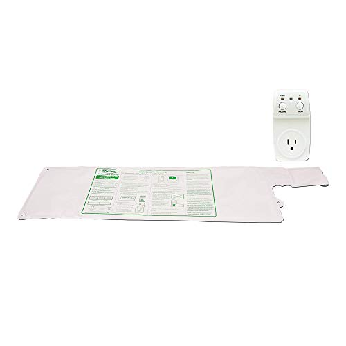 Smart Caregiver® Light Outlet with Cordless Bed Sensor Pad – Turns on a light when they get up!