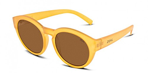 Zeal Optics Unisex Fleetwood Rye Honey W/ Polarized Copper Lens Goggles by Zeal