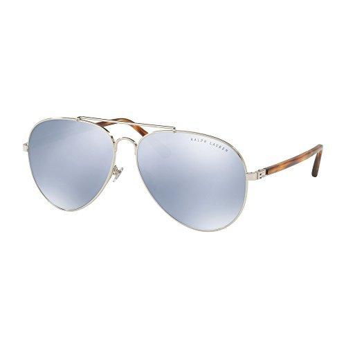 Ralph Lauren 0Rl7058, Gafas de Sol para Mujer, Silver, 62