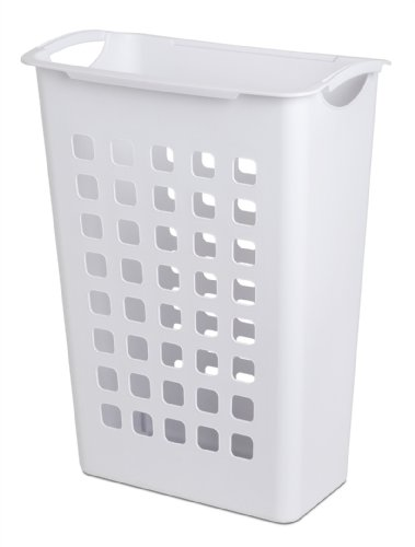 Sterilite 12588006 Sorting Hamper, White, 6-Pack