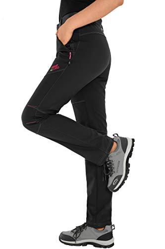 HAINES Pantaloni Trekking Donna Impermeabili Pantalone Softshell Pantaloni  Montagna Abbigliamento Escursionismo Invernali  Amazon.it  Sport e tempo  libero 0db7aec9e34