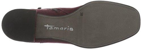 Tamaris 25310, Botines para Mujer Rojo (VINE 558)