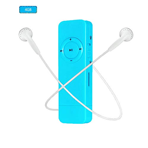 Mp3 Player, Dyzeryk MP3 Music Player with USB Flash Drive, 4GB Portable Mp3 Player, Supports up to 64GB
