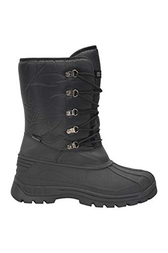 Mountain Warehouse Plough Mens Snow Boots - Breathable Winter Boots