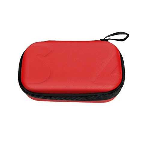 Orcbee  _Waterproof Portable Handheld Mini Hard Bag Storage Carry Case for DJI OSMO POCKE (Red) (10' Plush Turtle)