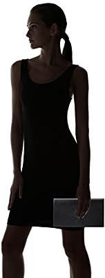 Saint Laurent Yves YSL Belle Du Jour Large Black Leather Clutch Bag 361120