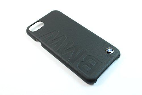 BMW BMHCP7LOB Signature Hart Schutzhülle für Apple iPhone 7, Debossed logo schwarz