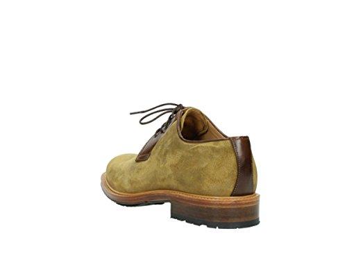 Moutarde Moutarde Moutarde Gelb donna Veloursleder Sneaker Wolky 40940 x0SWw
