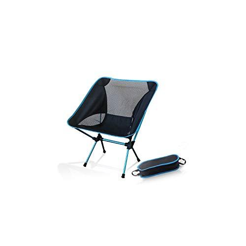(Portable Camping Beach Chair Lightweight Folding Fishing Outdoorcamping Outdoor Ultra Light Orange Red Dark Blue Beach Chairs,Blue)