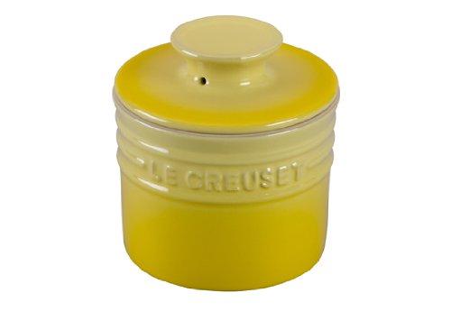 Le Creuset Stoneware Butter Crock, 6-Ounce, Soleil