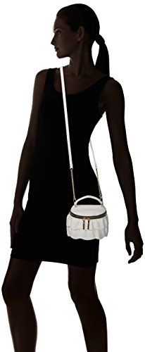 Astor Small Crossbody Ruffle Top MILLY Zip White H7qRSxxBw