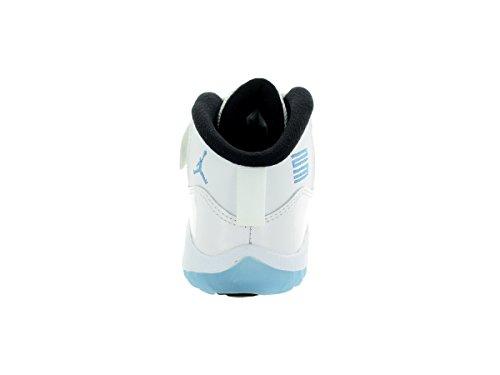 Nike Jordan 11 Retro Bt, Zapatos de Primeros Pasos para Bebés Blanco / Azul / Negro   (White / Legend Blue-Black)