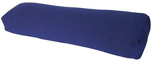 SierraComfort SC-01363 Yoga Massage Bolster Rectangular, Dark Blue by SierraComfort
