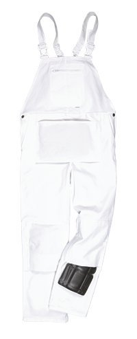 Portwest S810WHRM Bolton Painters Bib, Medium