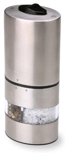Olde Thompson 6-Inch Electric Peppermill and Salt Grinder