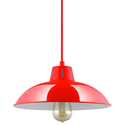 Kitchen Pendant Light Red in US - 9