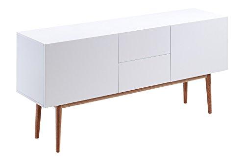 Sideboard holz weiß  Sideboard Kommode Weiß Wohn- & Schlafzimmer Vintage Matt Elegant ...