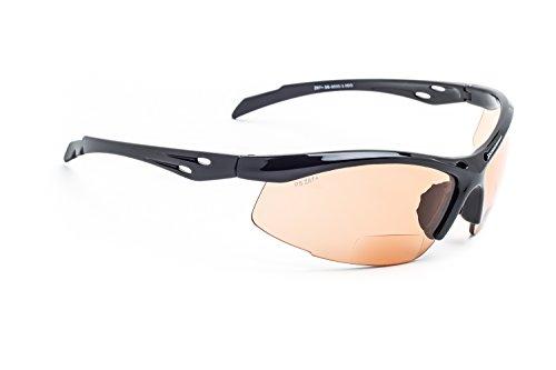 Bifocal Safety Glasses SB-9000 with Orange Lenses