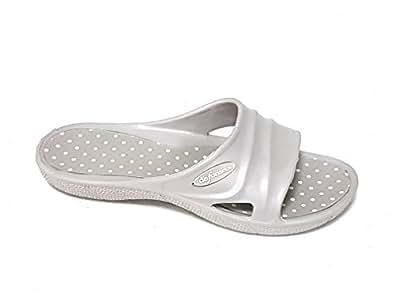 De Fonseca - Zapatillas de estar por casa de goma para mujer gris TóRTOLA gris Size: 41: Amazon.es: Zapatos y complementos