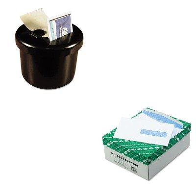 KITLEE40100QUA21432 - Value Kit - Quality Park Health Form Gummed Security Envelope (QUA21432) and Lee Ultimate Stamp Dispenser (LEE40100)