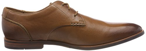 Broyd Derby Clarks Walk Leather Tan Marron Clarks Broyd Homme w1wOSBq