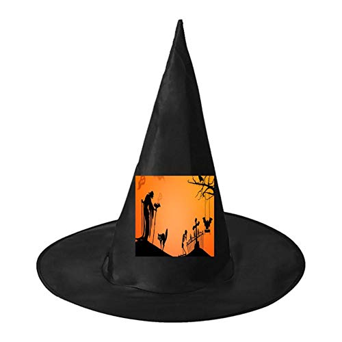 Halloween Party Unisex Halloween Witch Role Playing Wizard Hat for Costume Accessory